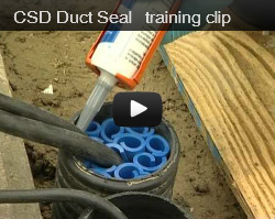 Duct Seals & Duct Sealing